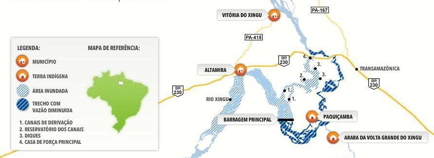 Mapa Belo Monte